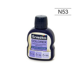 Pigmentas COLOREX violetinis 100 ml N53 Sniežka