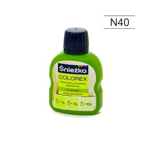 Pigmentas COLOREX salotinis 100 ml N40 Sniežka