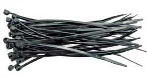 CABLE TIE 150X2,5 100 PCS. BLACK