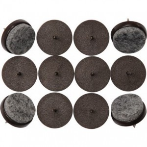 FELT FURNITURE GLIDES 20MM 16 PCS