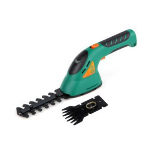 CORDLESS GRASS AND HEDGE TRIMMER 3,6V