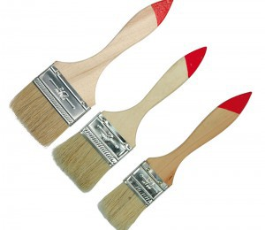 PAINT BRUSH 3 PCS SET