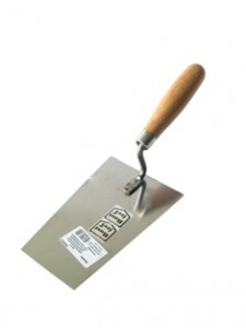 BRICK TROWEL, STEINLESS 180MM