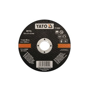 METAL CUTTING DISC 125X2, 2X22