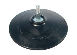 RUBBER DISC WITH VELCRO 150MM