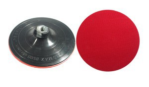 RUBBER DISC FOR ANGLE GRINDER W/ VELCRO