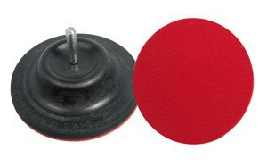 MULTI-DYSK RUBBER DISC W/ VELCRO 125MM