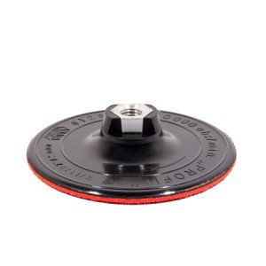 RUBBER DISC FOR ANGLE GRINDER W/ ARBOR