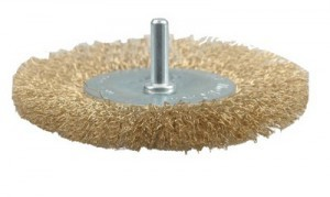 CIRCULAR BRUSH - CRIMPED WIRE  75MM
