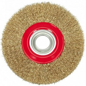 CIRCULAR BRUSH - CRIMPED WIRE  150MM