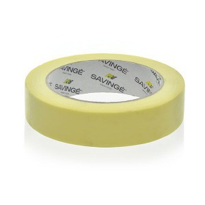 PAPER TAPE ADHESIVE YELLOW 25/25M