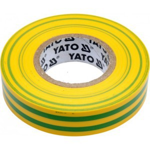 ELECTRICAL INSULATION TAPE PVC 0.13MM 15MMx10M YELLOW-GREEN
