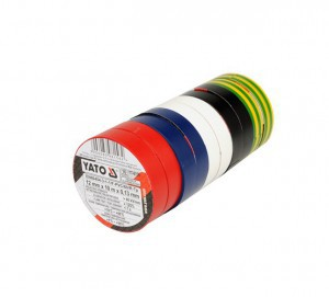 ELECTRICAL INSULATION TAPE 12MMx10M 10PC