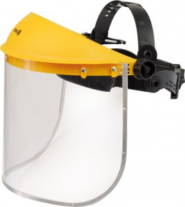 FACE SHIELD WITH PC VISOR