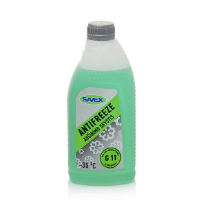 Coolant ANTIFREEZE -35*C G11  1 l (green) SAVEX