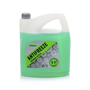 Coolant ANTIFREEZE -35*C G11  5 l (green) SAVEX