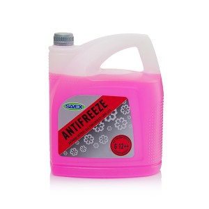 Coolant ANTIFREEZE XLC G12++ ( concentrate ) 5 l (red) SAVEX