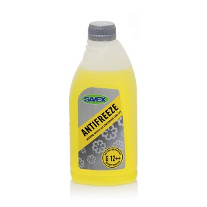 Coolant ANTIFREEZE XLC G12++ ( concentrate ) 1 l (yellow) SAVEX