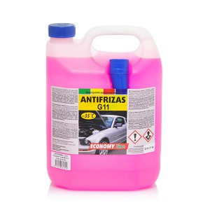 Coolant Antifreeze -35*C  (ECONOMY LINE)  5 kg  (red)