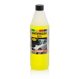 Coolant Antifreeze -35*C  (ECONOMY LINE)  1 kg  (yellow)
