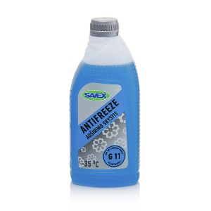 Coolant ANTIFREEZE -35*C G11  1 l (blue) SAVEX