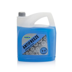 Coolant ANTIFREEZE -35*C G11  5 l (blue) SAVEX
