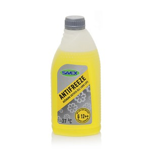Coolant ANTIFREEZE XLC -37*C  G12++ 1 l (yellow) SAVEX