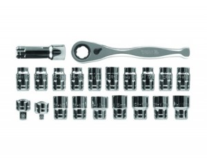 21 PCS GO-THROUGH SOCKET SET